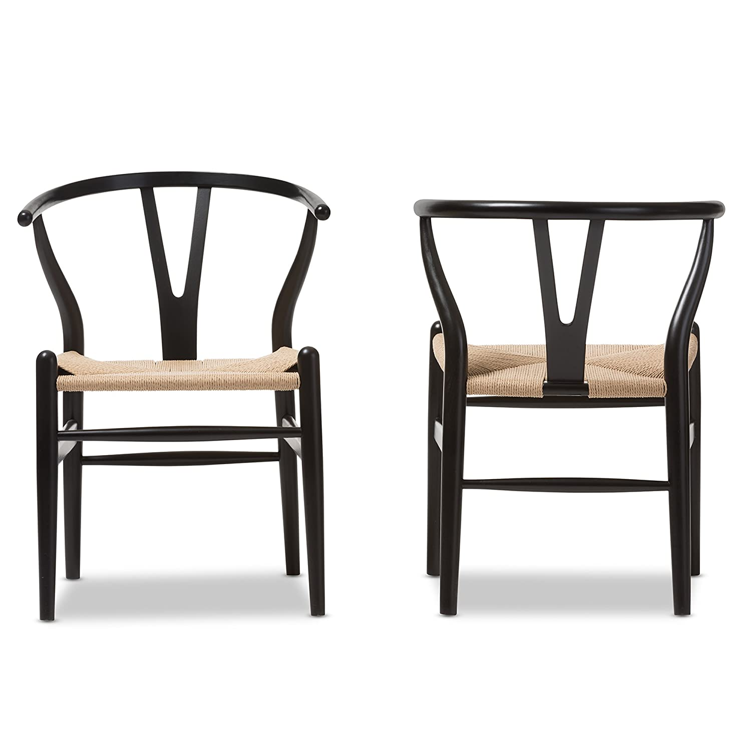 Popular 227 list modern black dining chairs for Modern black dining chairs