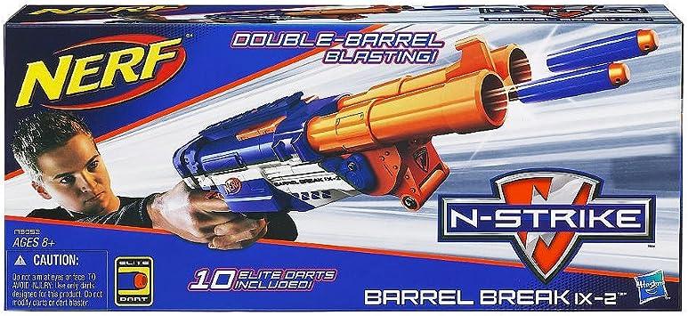NERF N-Strike Elite Barrel Break IX-2 Dart Blaster: Amazon.es ...