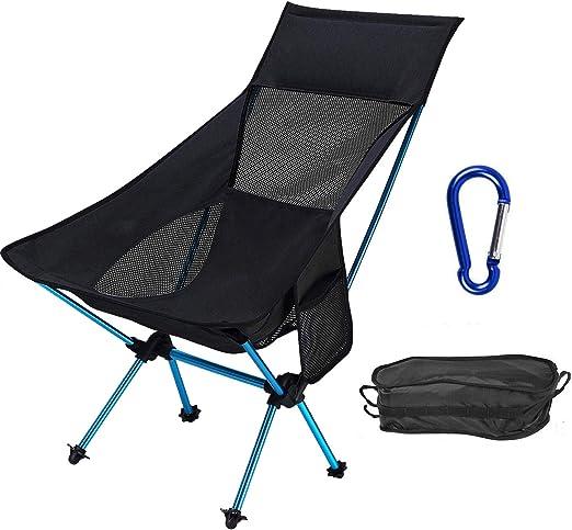Lujo silla de jardín aluminio silla plegable con acolchado de sin cantidad elegibles respaldo alto