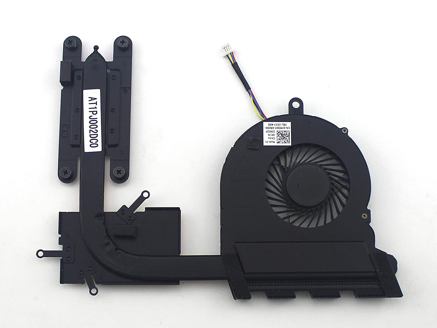 New For Dell Inspiron 15-5565 15-5567 17-5767 Series Laptop CPU Fan CN-0789DY