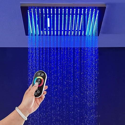 XSGDMN Cabezal de Ducha Cabezal de Ducha LED multifunción LED de ...
