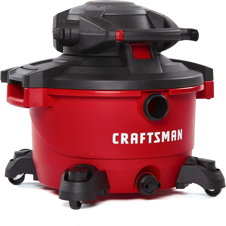 CRAFTSMAN aspiradora húmeda/seca con soplador de hojas desmontable, aspiradora portátil para tienda con accesorios: Amazon.es: Hogar