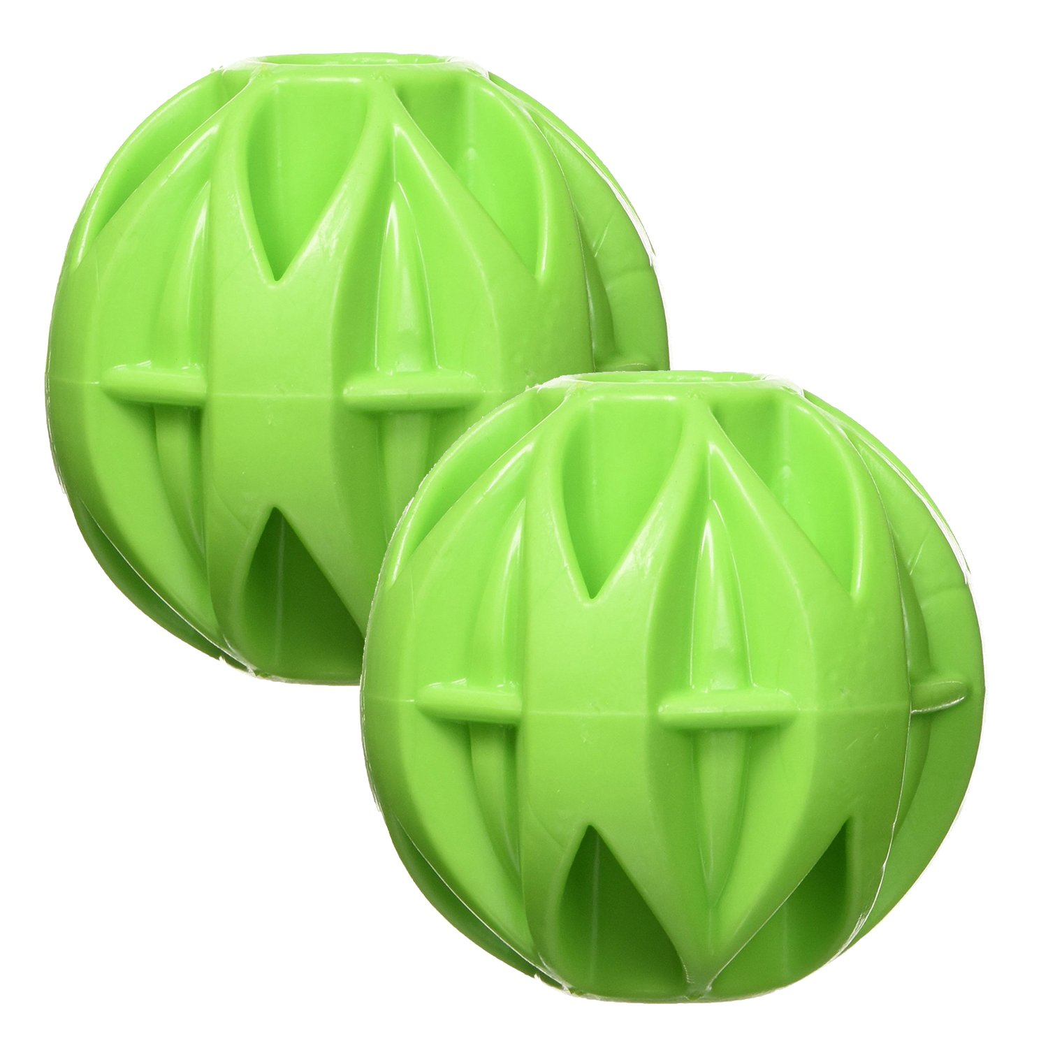 JW Pet Company Small Megalast Ball - Large-2 Pack