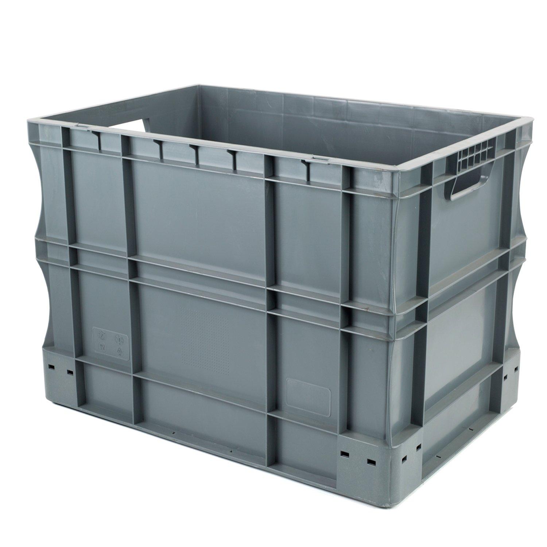 Hans Schourup 22601019 Euro Container 600 x 400 x 430 mm, 90 Litre 90Litre