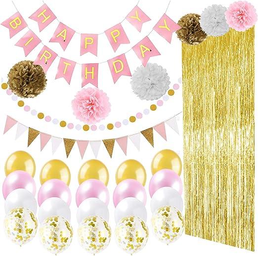 Amazon.com: Ougold - Cortinas de papel con flecos para ...