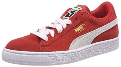 quality design 36be4 e6a2a Puma Suede Jr, Baskets Basses Mixte Enfant
