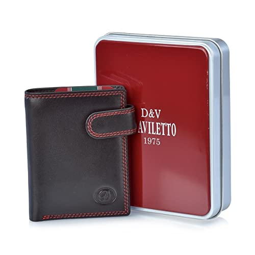 DAVILETTO Cartera con Monedero para Hombre 4543: Amazon.es ...