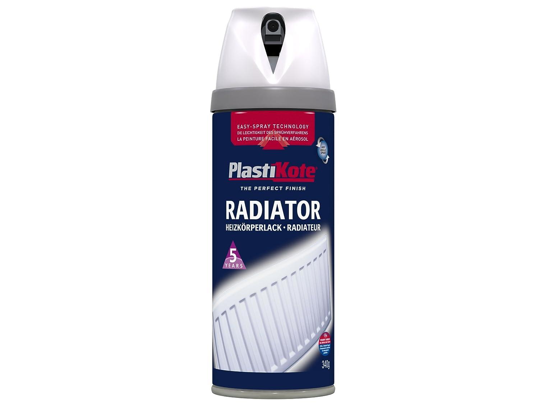 PLASTI-KOTE 26102 Radiator Satin White 6uc