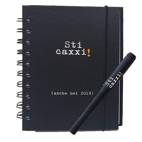 Kit de Agenda 2019 diaria + pluma con impresión pn151