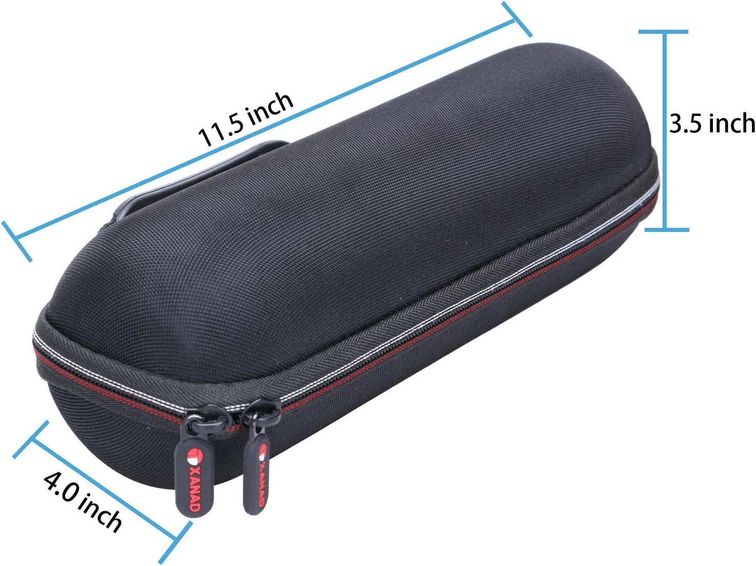 Grey XANAD Storage Carrying Travel Hard Case for Sbode Bluetooth Speaker Storage Protective Bag