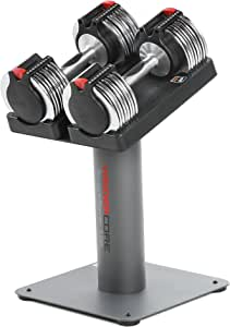Weider Core 100 lb. Adjustable Select-A-Weight Set with Stand