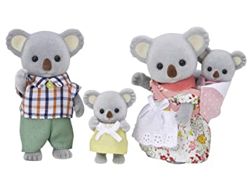 Amazon シルバニアファミリー 人形 コアラファミリー Fs 15 人形