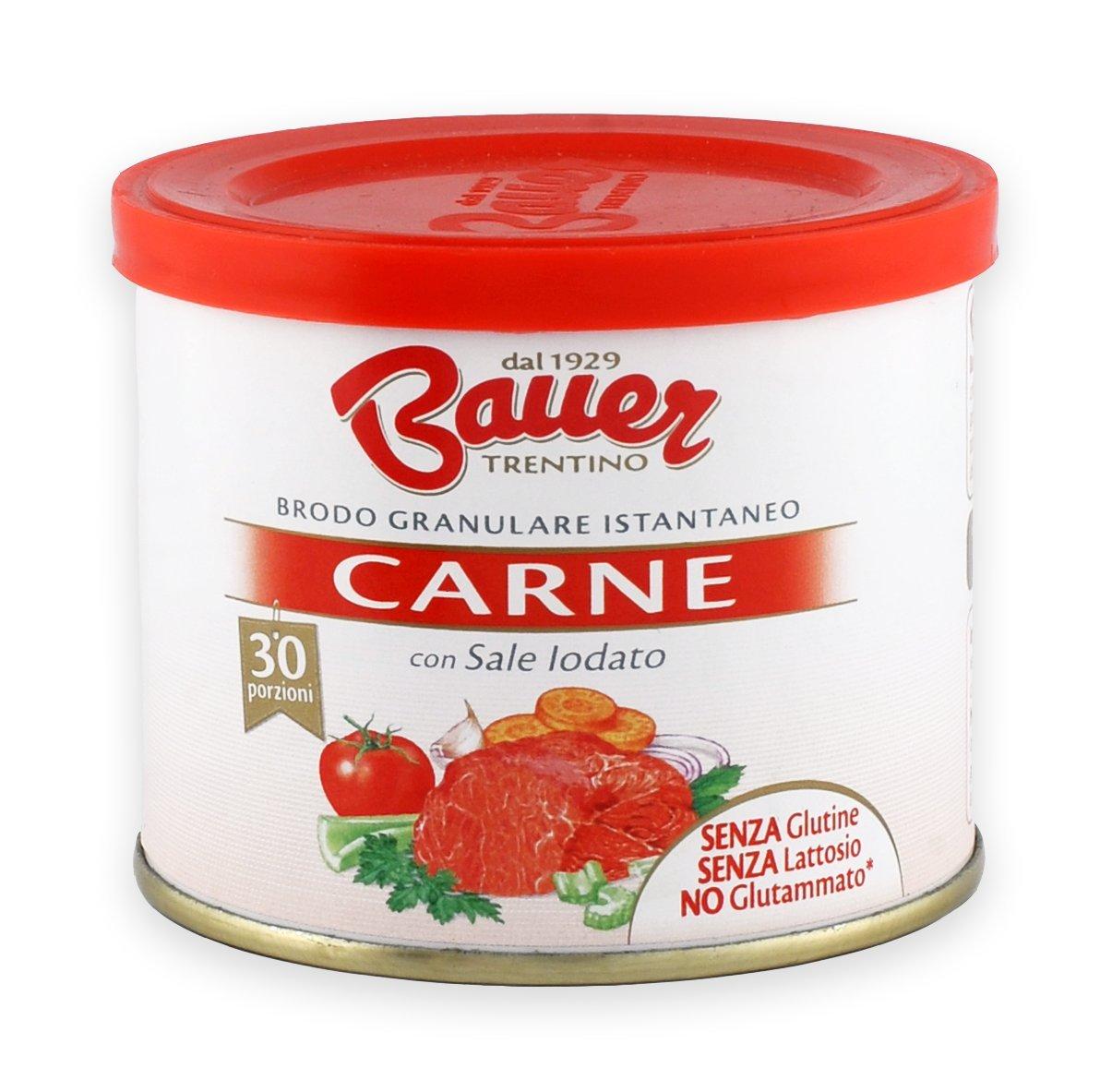 Bauer Instant Granular Gluten Free Meat Broth 120g