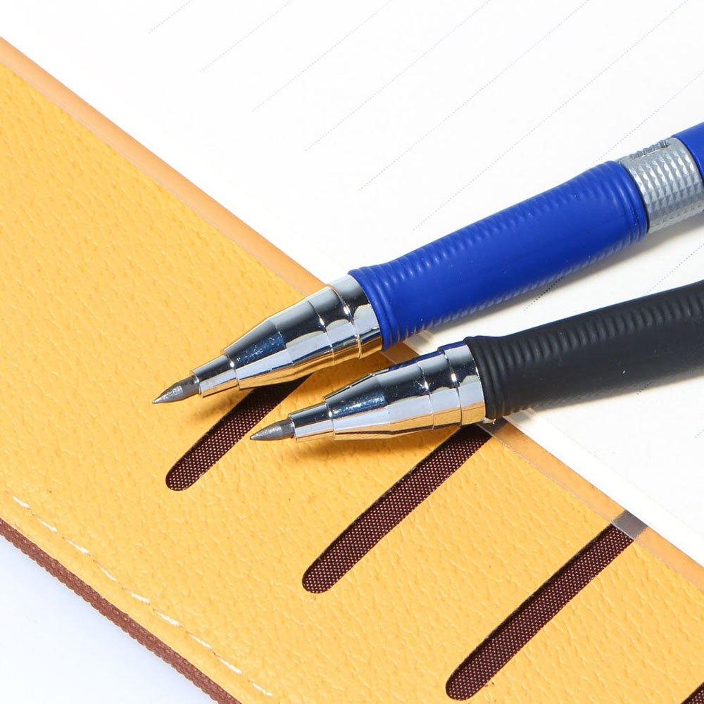 2/mm per progetto di disegno schizzi d arte falegname Mylifeunit 2.0/mm matita portamine blu e nero 2/pezzi fai da te