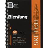 Bienfang 8 1/2 by 11-Inch Sketchbook, 100 Sheets