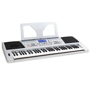 Netzteil fehlt GUT Keyboard RockJam RJ661-SK Super 61 Tasten LCD Elektronisch