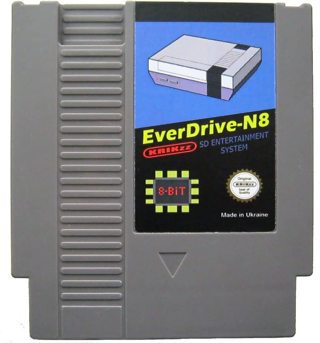 Amazon.com: Everdrive N8 flash game card for Nintendo ...