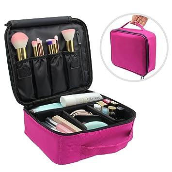 Neceser Maquillaje Vococal® Bolsa de Maquillaje Organizador-Brochas de Maquillaje Estuches Portátil Maletín de Almacenamiento, Cosméticos Funda de ...