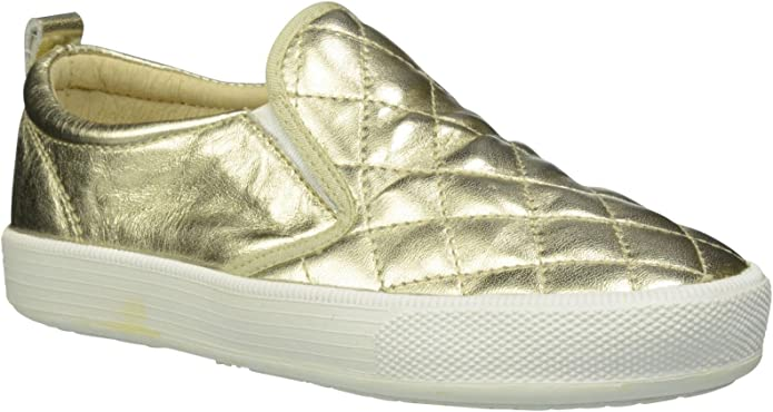 22 EU//6.5 US Toddler//Youth - Gold Old Soles Girls Quilted Hoff