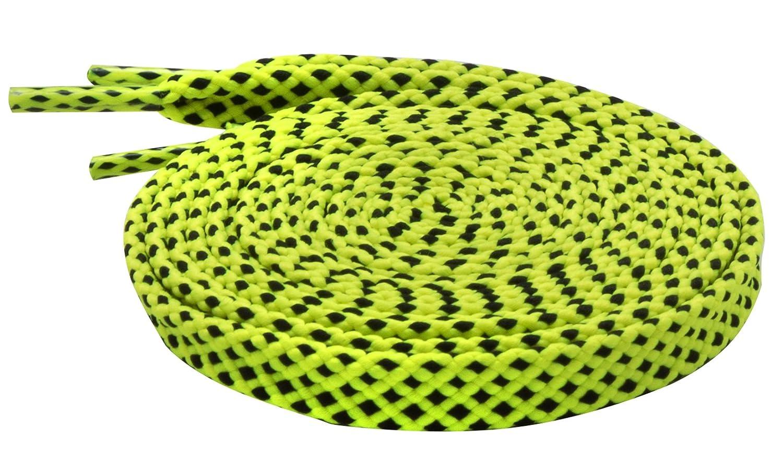 140 cm Santimon Lacci per Scarpe Colorati Piatta Stringhe Scarpe per lo Sport Scarpe Stivali Sneaker Pattino,Lunghezza 100