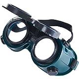 Babimax Gafas de Soldador Gafas Anti-salpicaduras Soldadura Doble Lentes Gafa Protectora Anti UV para Proteger Ojos