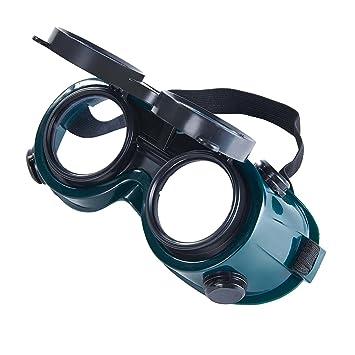 Babimax Lunettes de Protection de Soudure Flip-up Anti-éclaboussure  Lentilles de Sécurité pour 50db33374ef4