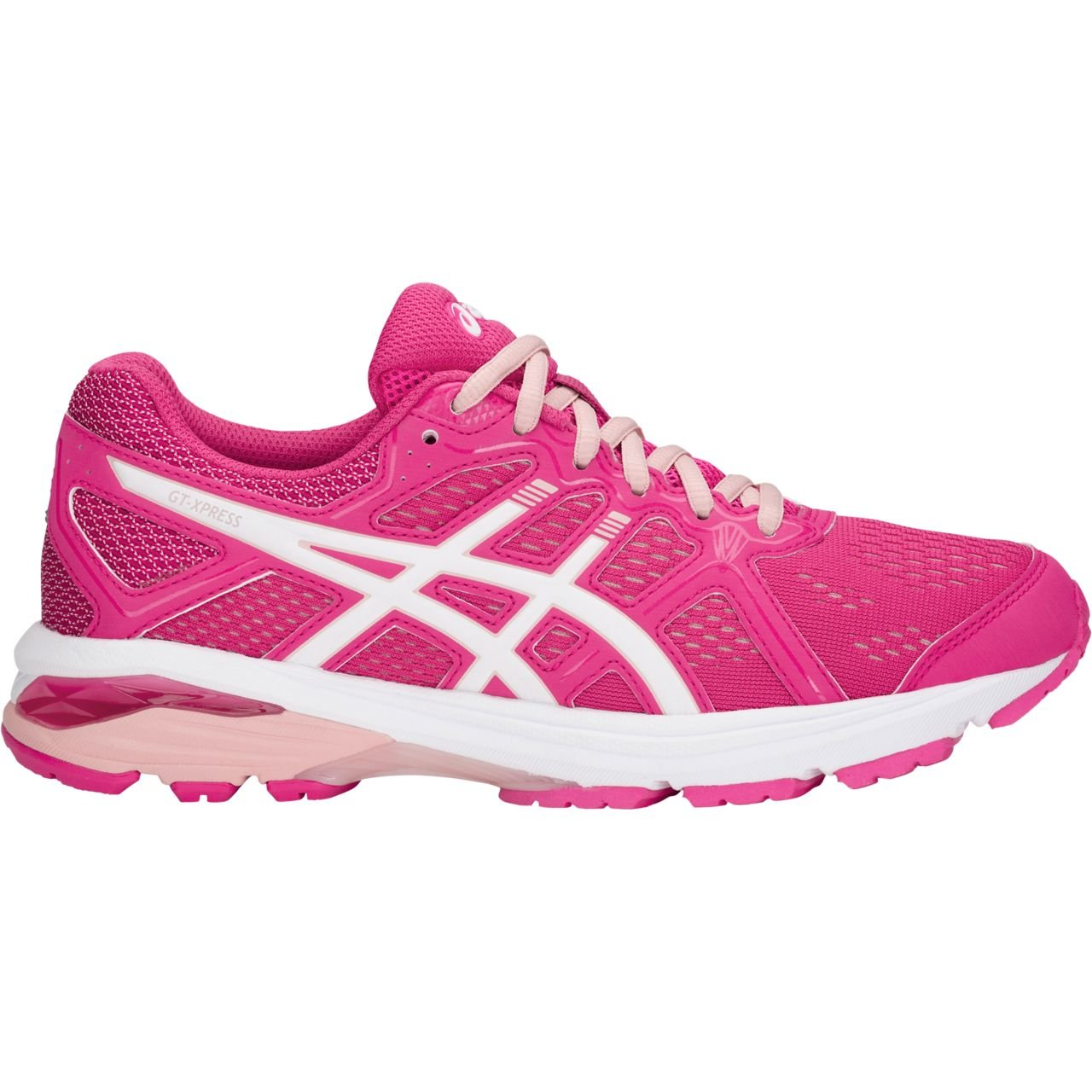ASICS Women's GT-Xpress Running Shoe B07DNGG637 11 B(M) US|Fuschia Purple/White