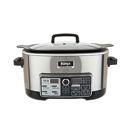 Ninja CS970QSS 4 in 1 6 Qt. Accutemp Slow Cooking System (Certified Refurbished)