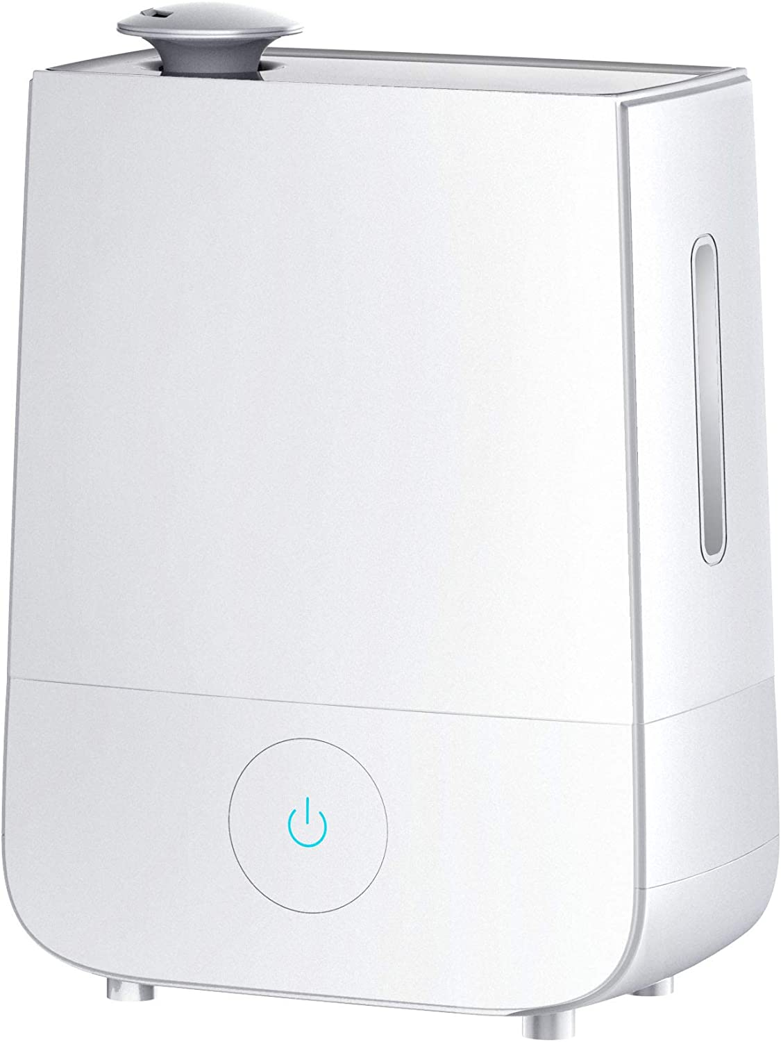 InnoGear Cool Mist Humidifier, 4L Touch Control Ultrasonic Humidifiers 360 Rotatable Nozzle and 3 Mist Level Low Medium High 13-40 Hrs Waterless Auto Shut-off Whisper Quiet for Home Baby Nursery