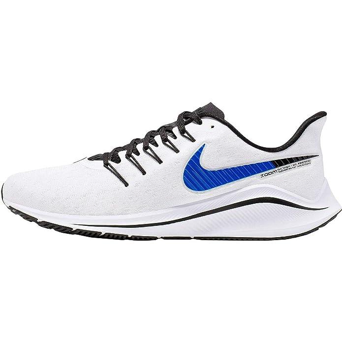 Nike Air Zoom Vomero 14, Zapatillas de Running para Hombre, Blanco (White/Racer Blue/Platinum Tint/Black 101), 41 EU: Amazon.es: Zapatos y complementos