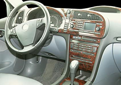 Amazon.com: SAAB 9.3 9-3 93 9 3 INTERIOR BURL WOOD DASH TRIM KIT SET 2003 2004 2005 2006: Everything Else