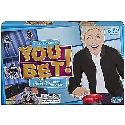 Ellen's Games You Bet Game, Ellen DeGeneres Challenge For 4 Players Ages 8 & Up: Toys & Games
