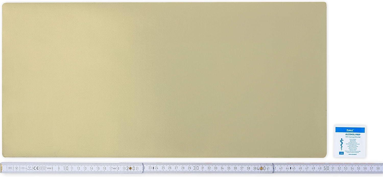 smaragdgr/ün Flickly Anh/änger Planen Reparatur Pflaster SELBSTKLEBEND in vielen Farben erh/ältlich 50cm x 24cm