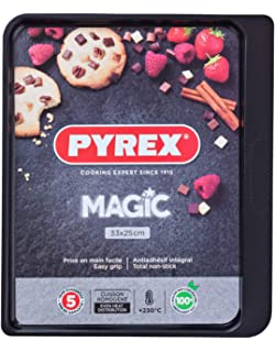 Pyrex Magic Bandeja De Horno, Negro: Amazon.es: Hogar