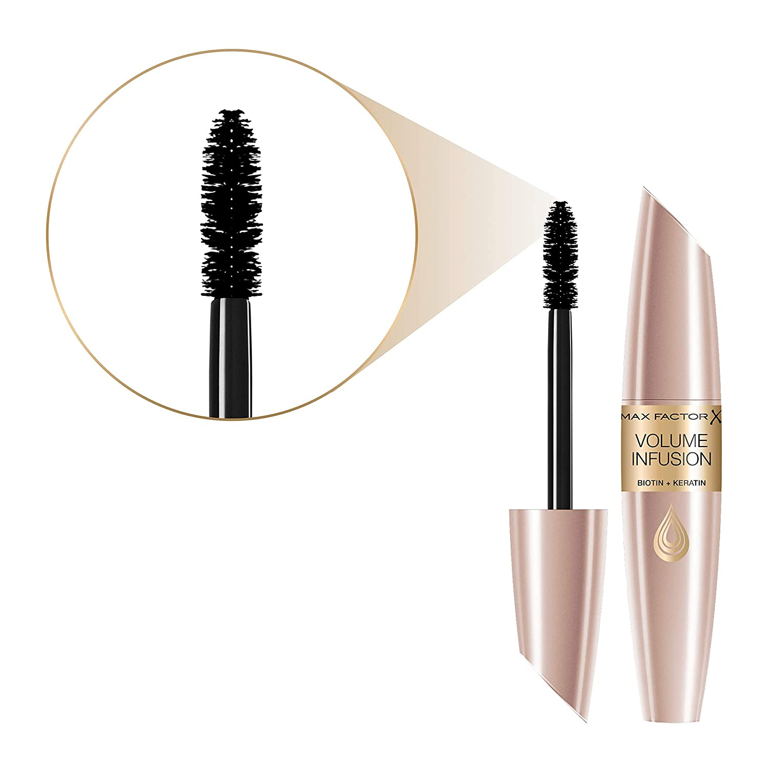 b99a0acd43e Max Factor Volume Infusion Mascara, Black/ Brown: Amazon.co.uk: Beauty