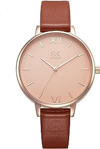 SHENGKE shengke señoras Reloj de Pulsera Creativas Mujeres Relojes Marca Reloj Mujeres Malla Vestido Reloj