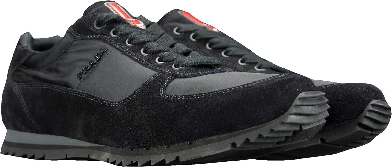 Prada Shoes 4E2721 Black New Mens
