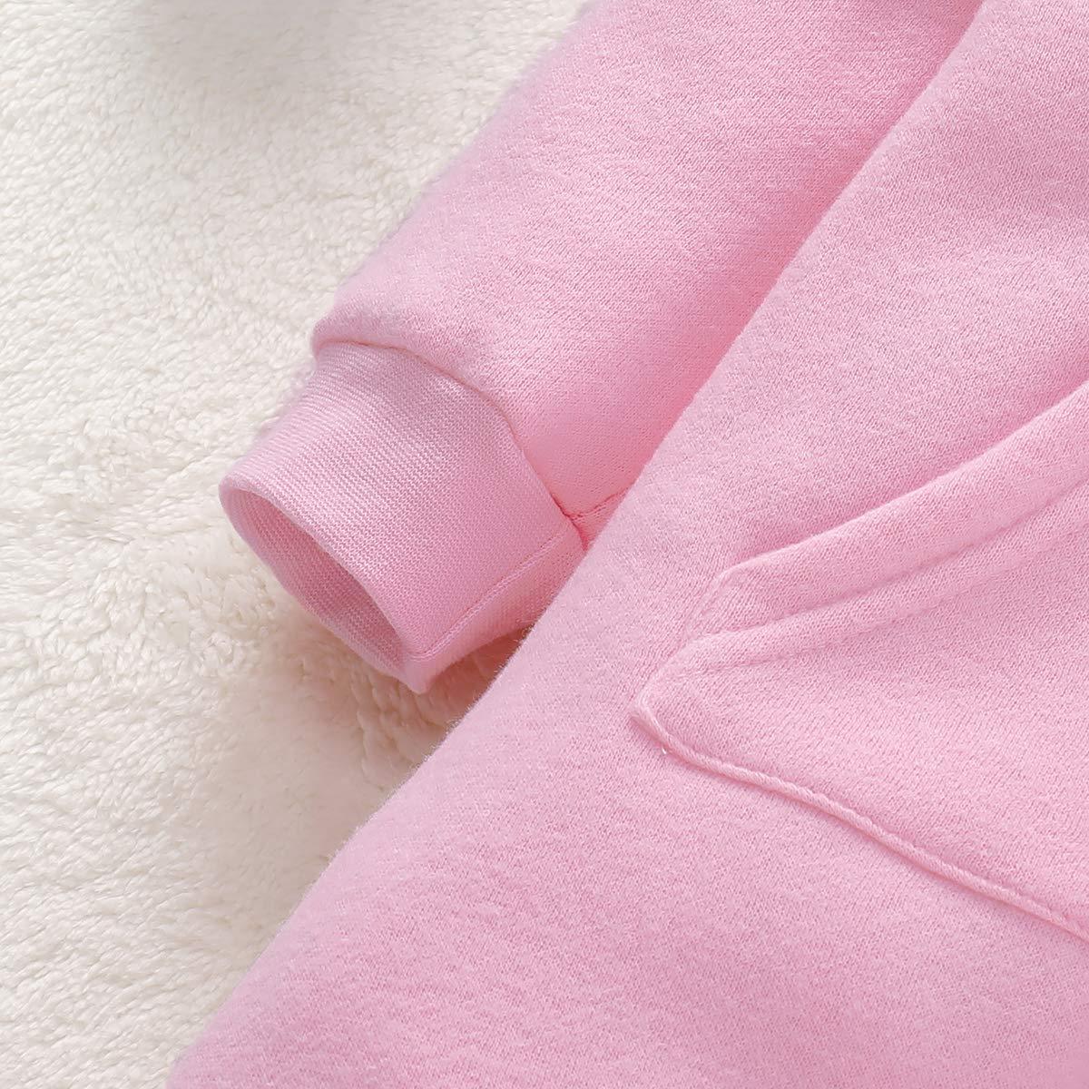 Borlai Baby Warmer Strampler s/ü/ßer Kaninchen Jumpsuit Winter Playsuit Schneeanzug Onesie 0-18 Monate