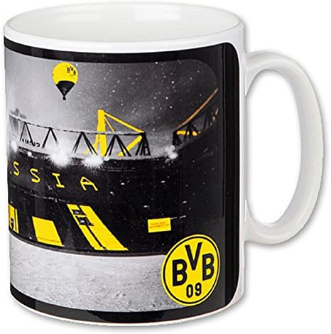 Borussia Dortmund BVB Comic Team Tasse
