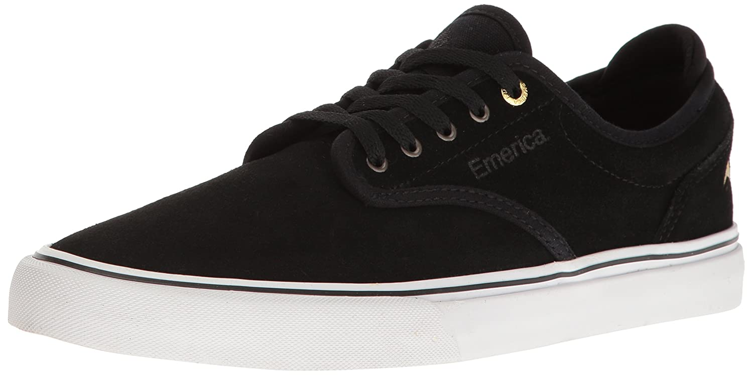Emerica Men's Wino G6 Skate Shoe 8 D(M) US|Black/White