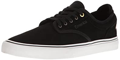 Emerica Men's Wino G6 Skateboarding Shoe, Black/White, ...