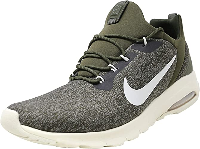 Amazon.com   Nike Women's Air Max Motion Racer Cargo Khaki/Light  Bone-Sequoia Ankle-High Running Shoe - 8M   Running