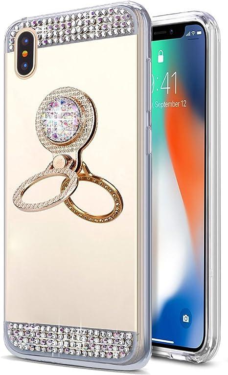 cover iphone x specchio