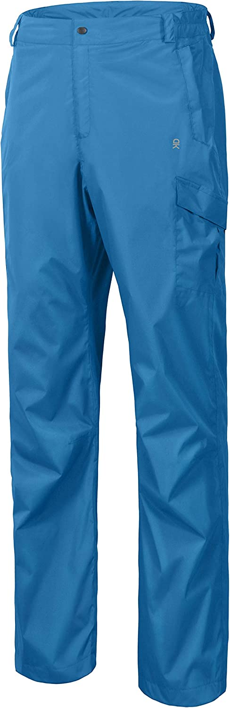 Little Donkey Andy Men's Lightweight Waterproof Breathable Rain Pants Golf Hiking Travel