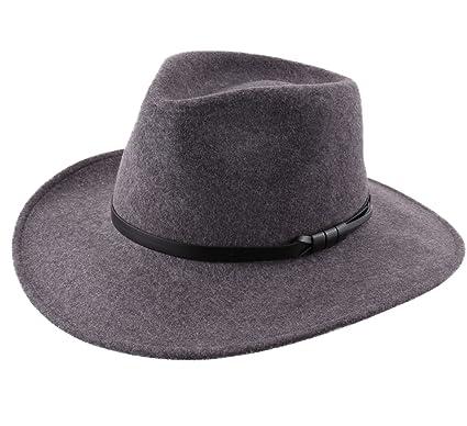 Classic Italy Chapeau fedora feutre - 10 Coloris - homme ou femme Classique  Large - Taille 7bbfd7614b0