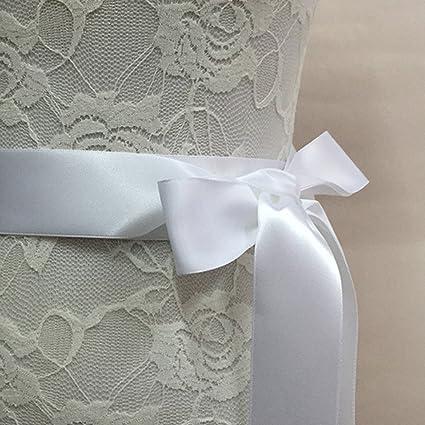 UxradG - Cinturón de novia de cristal, elegante, estilo vintage, para boda,