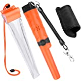 Kuman Pin pointer Water Resistant Metal Detectors with Holster Treasure Hunting Unearthing Tool Accessories Buzzer…