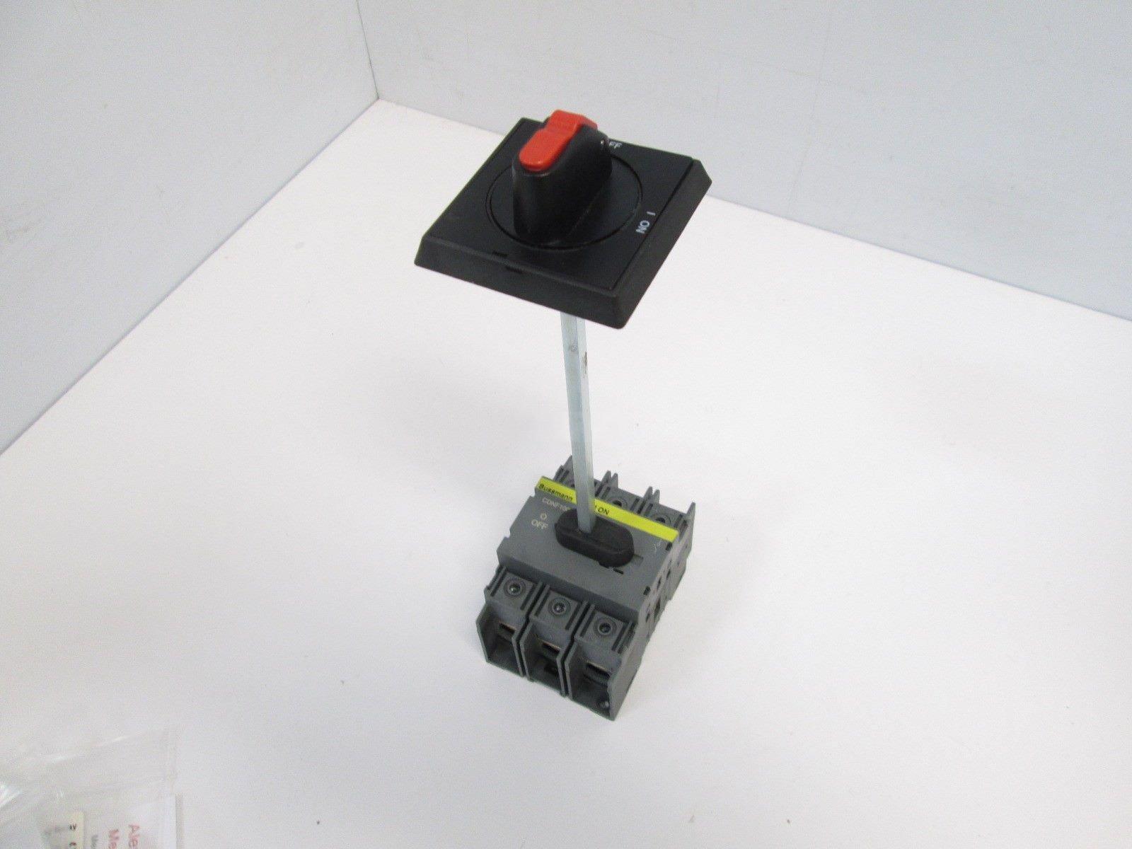Bussmann CDNF100A3 Disconnect Switch, 3 Pole, 600V 100A 3PH