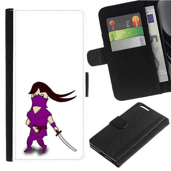 Amazon.com: [Cartoon Female Ninja] for Google Pixel, Flip ...