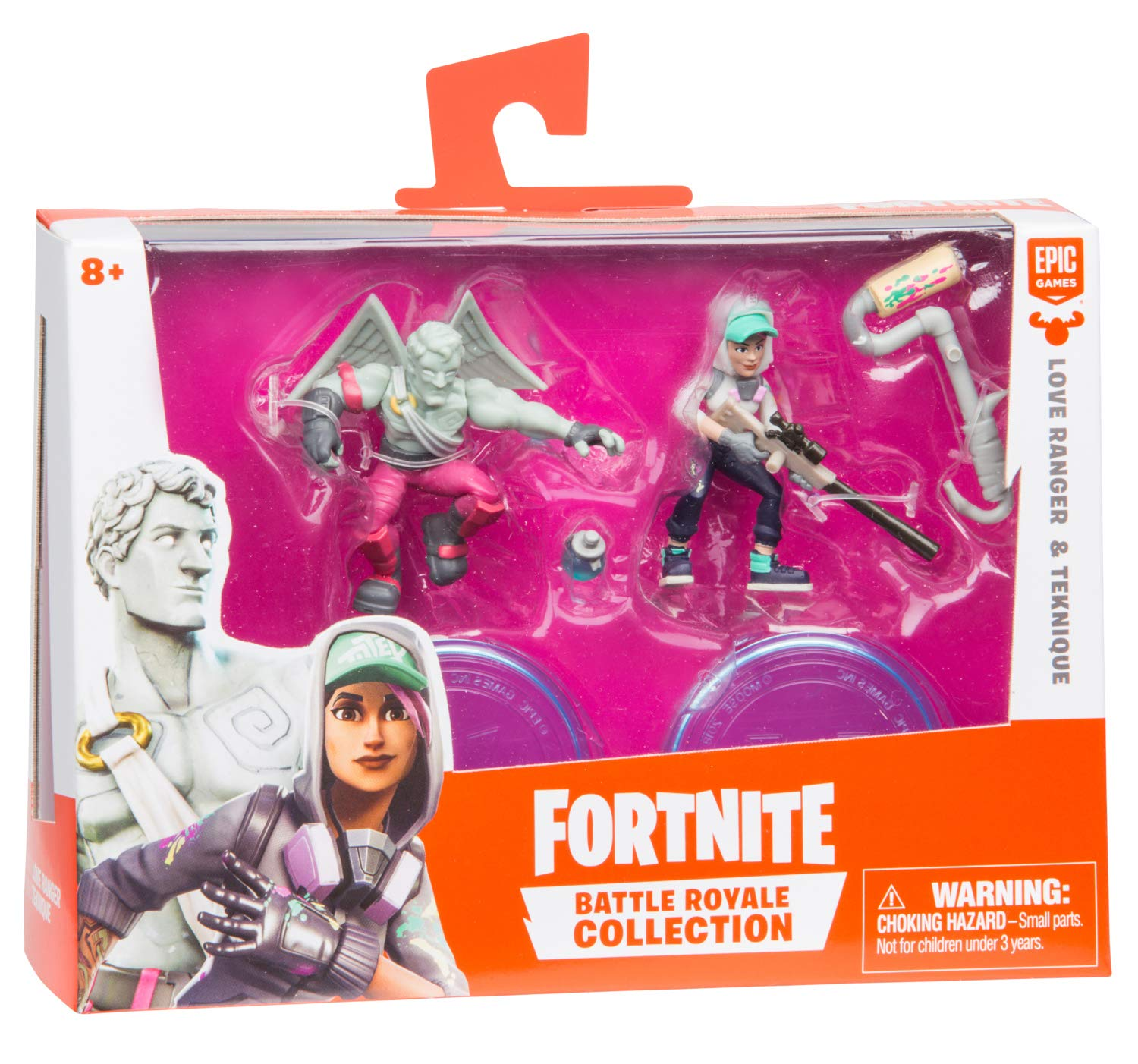 Styles May Vary Fortnite 2 Inch Figure Duo Pack